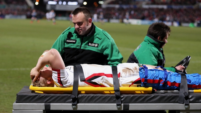Ulster's Olding out for nine months with ACL blow