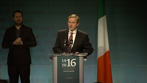 Enda Kenny launched the programme in Collin's Barracks