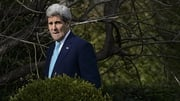 Secretary John Kerry taking a break from Iran nuclear talks in Lausanne