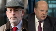 Michael Noonan (R) is due to meet Patrick Honohan (L) tomorrow