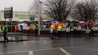 Thousands of Dunnes Stores staff on strike