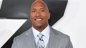 Laughing all the way to the bank. Dwayne Johnson is the world's best paid actor