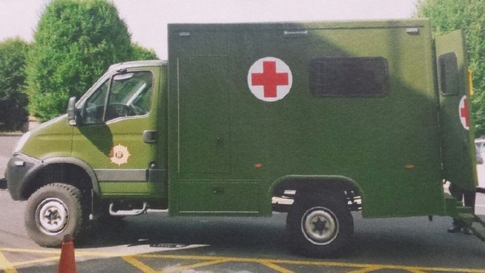 Defence Forces ambulances shown to be dangerous for paramedics