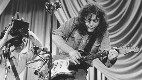 Rory Gallagher on The Rock Show