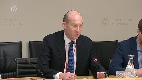 Joe Thompson told the committee Virgin is 'agnostic' in relation to IAG's takeover of Aer Lingus
