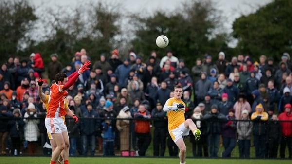 Antrim's CJ McGourty will start against Fermanagh on Sunday