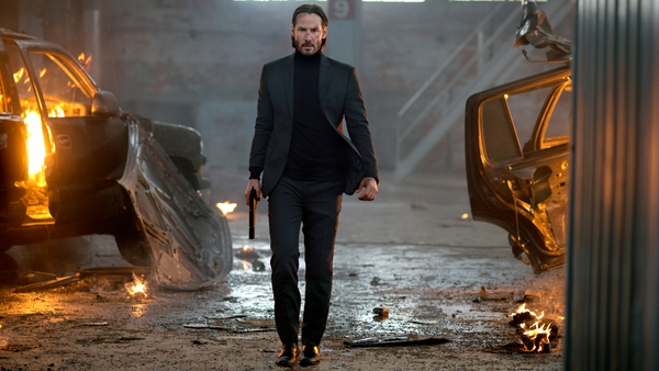 Keanu Reeves as the unstoppable John Wick