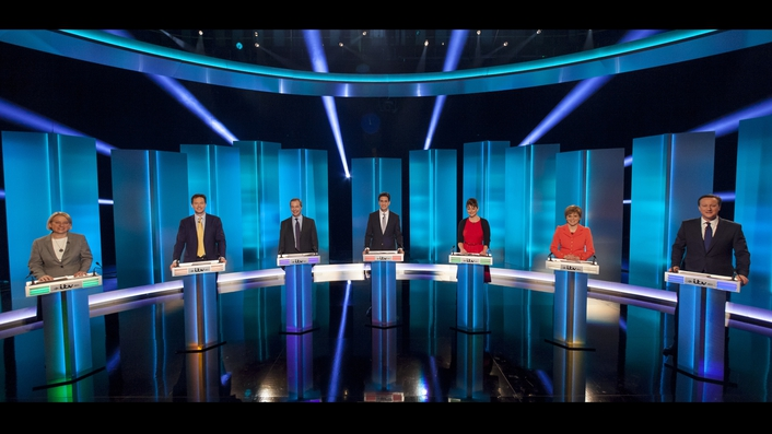 No knock-out punches in British election debate