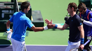 Andy Murray fell to Novak Djokovic at Indian Wells