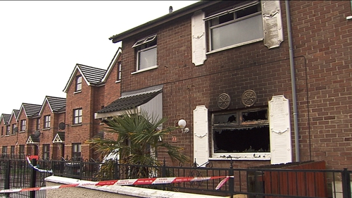 20 firefighters were involved in tackling the fire