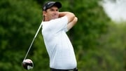 Padraig Harrington trails the leaders by one shot