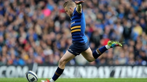 Ian Madigan scored all of Leinster's points