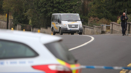 The road was closed for a time to facilitate a forensic collision investigation (Pic: North West Newspix)