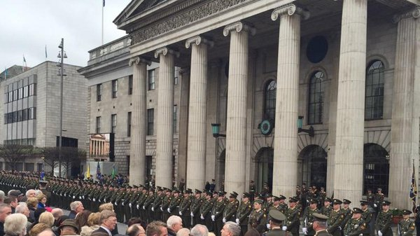 The ceremony will mark 99 years since Padraic Pearse read out the Proclamation of the Republic