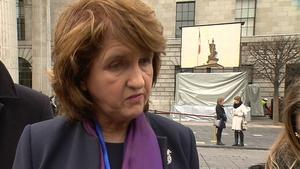Joan Burton said more efficiency is vital for the economy