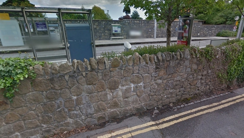 The incident occurred at the Luas stop in Milltown (Pic: Google Maps)