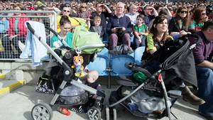 Fans of all ages at the Mayo v Donegal game