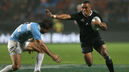 Francis Saili has been capped twice for the All Blacks