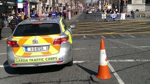 Dublin's main thoroughfare was pedestrianised for the event
