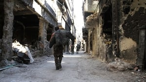 Hundreds of families have been evacuated from the Yarmouk camp near Damascus