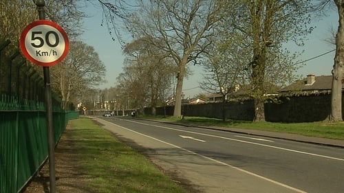 The incident happened on the North Road in the Phoenix Park