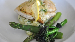 Poached Hake with Lemon Butter Sauce | Martin Shanahan