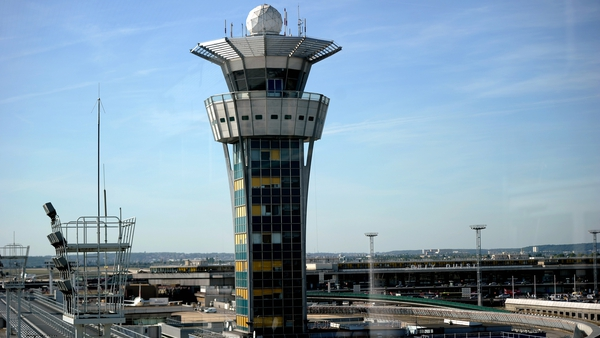 The control tower at Orly's airport, near Paris