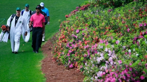 Tiger Woods will be anxious to be fit for April's Masters