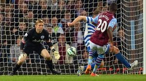 Christian Benteke's goals earned a point for Aston Villa
