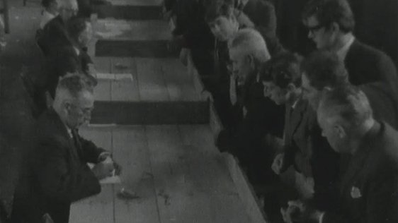 Counting at the 1965 General Election