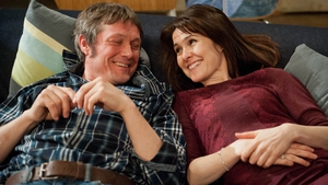 Emmerdale stars Bill Ward (James) and Gillian Kearney (Emma)