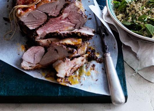 Nevens Recipes  -  Fragrant roast spring lamb.