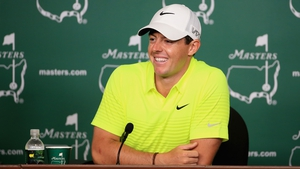 Rory McIlroy in relaxed mood despite a big next few days ahead at Augusta National