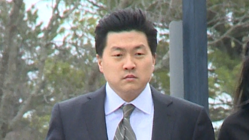 Jason Lee, 38, denies the rape and assault of a young Irish woman in the US