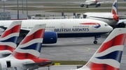 Two British Airways flights scheduled to fly from Dublin to Heathrow airport were cancelled this morning