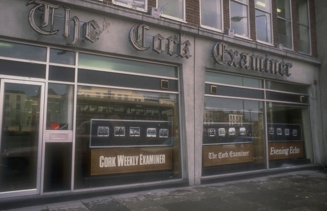 The Cork Examiner Offices, Aston Quay, Dublin (1978)