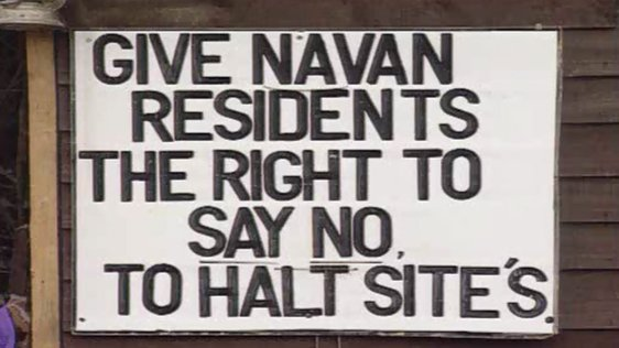 Navan Travellers Protest