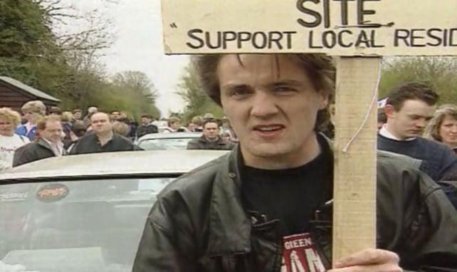 Navan Travellers Protest