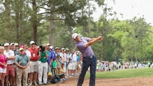 Jordan Spieth is five shots clear of the field