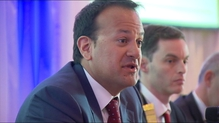 Leo Varadkar reiterated that water charges were being suspended not abolished