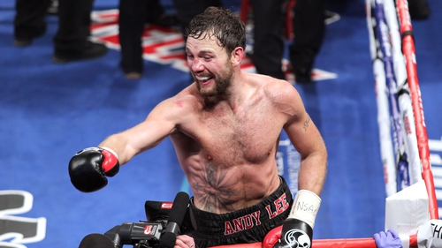 Limerick's Andy Lee is set for a December title defence against Saunders