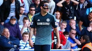 The masked avenger struck for Chelsea