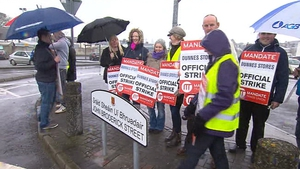 Further industrial action could include one day strikes or even an all out dispute