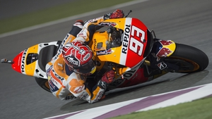 Marc Marquez won from pole