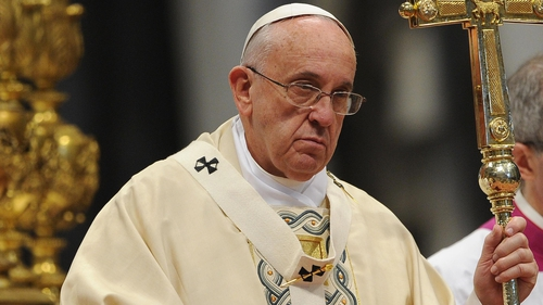 Pope Francis led a mass marking the 100th anniversary of the mass killings of Armenians under Ottoman rule in WW1