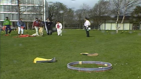 Wellie Throwing Competition
