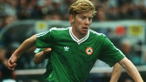 Gary Waddock won 21 Ireland caps but was omitted from the final squad for Italia '90