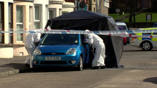 Kyle Neil's body was found in the boot of a car in Belfast on Sunday