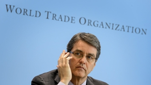 Roberto Azevedo, the head of the WTO, steps down from the post today