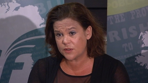 Mary Lou McDonald said the emergency department at the Mater is under massive pressure